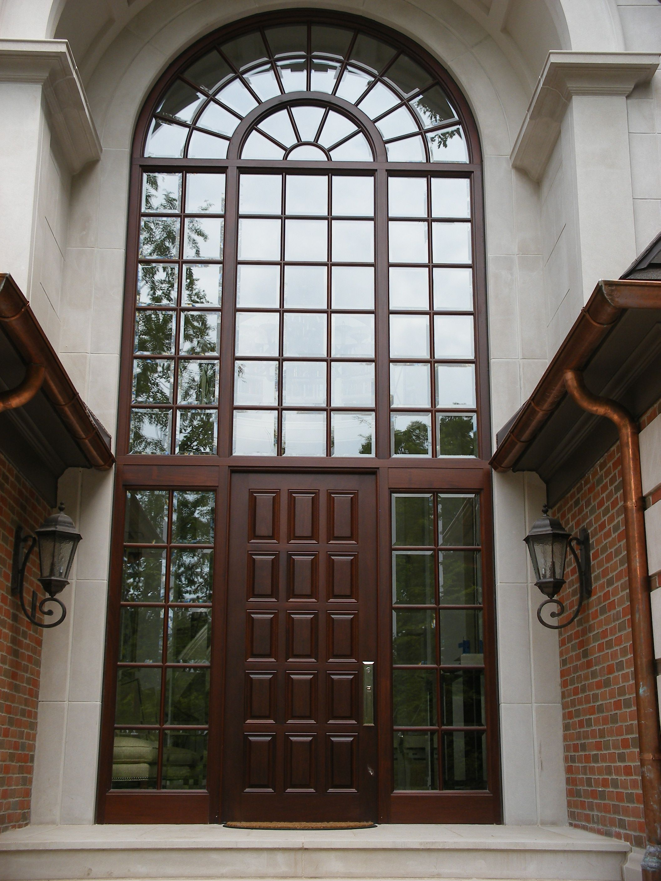 Custom entry door by Grabill available via BBlocks Windows