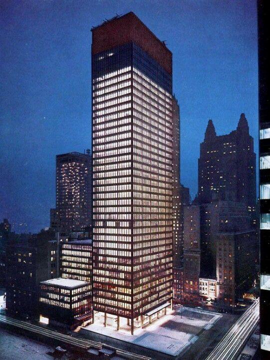 Edificio Seagram. Mies van der Rohe. Seagram building