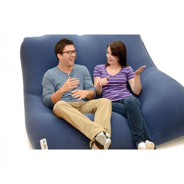 Yogi Double Bean Bag Doubles As Chair Or Bed Bean Bag Couch Bean Bag Bed Bean Bag Chair