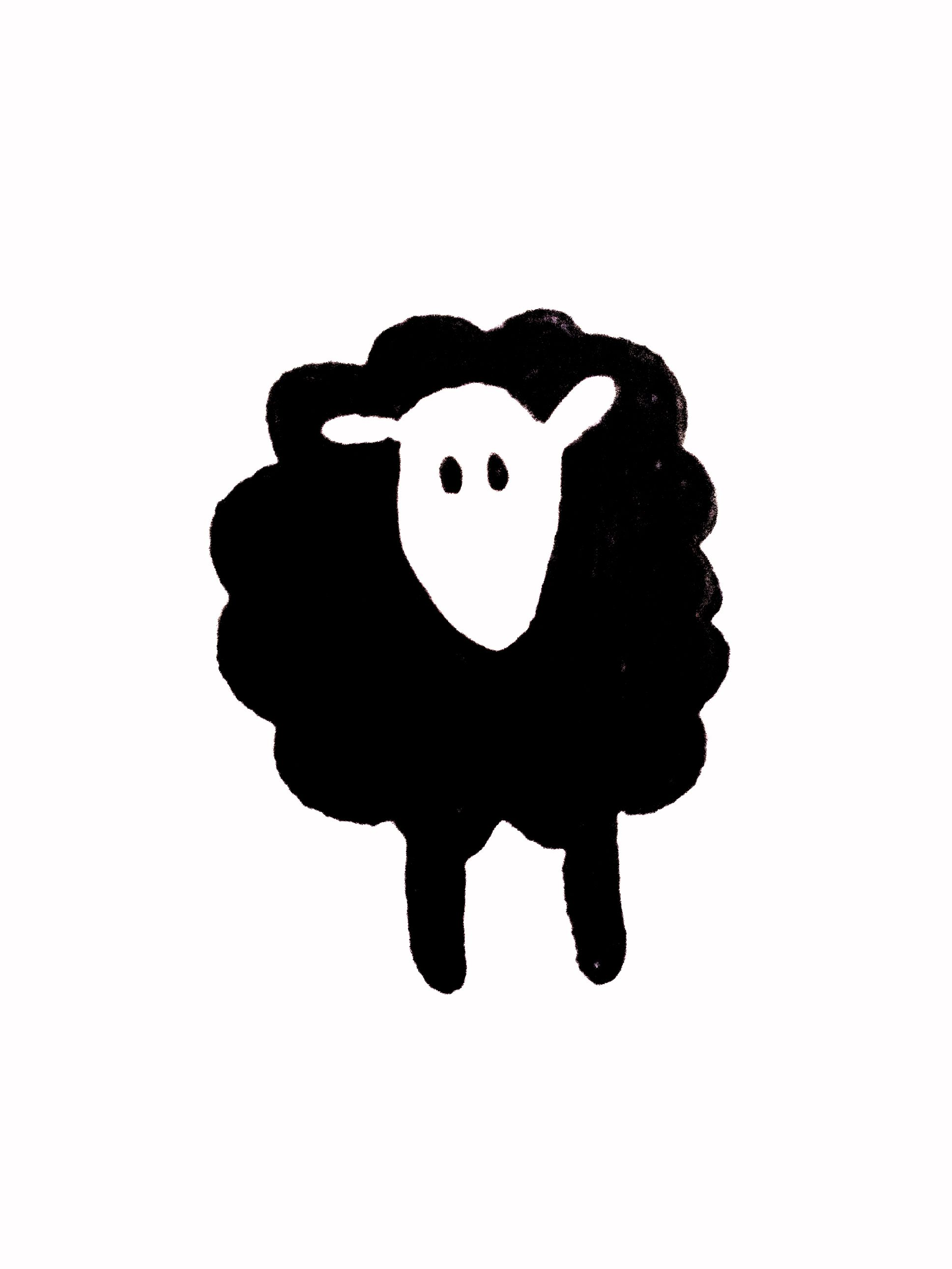 Black Sheep Sheep Tattoo Black Sheep Tattoo Sheep Illustration