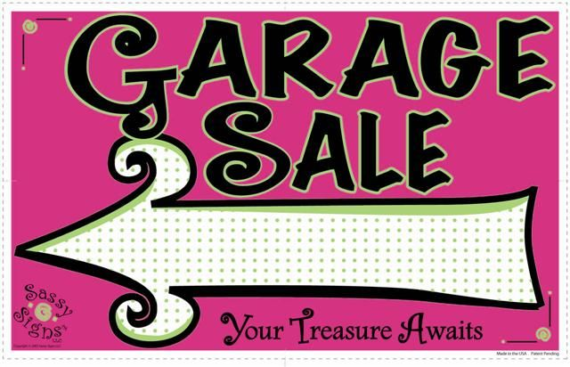 1000+ images about Creative Garage Sale Signs on Pinterest | On ...