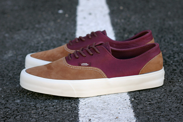 Vans Era Decon California Bordeaux/Marron - Disponible ...
