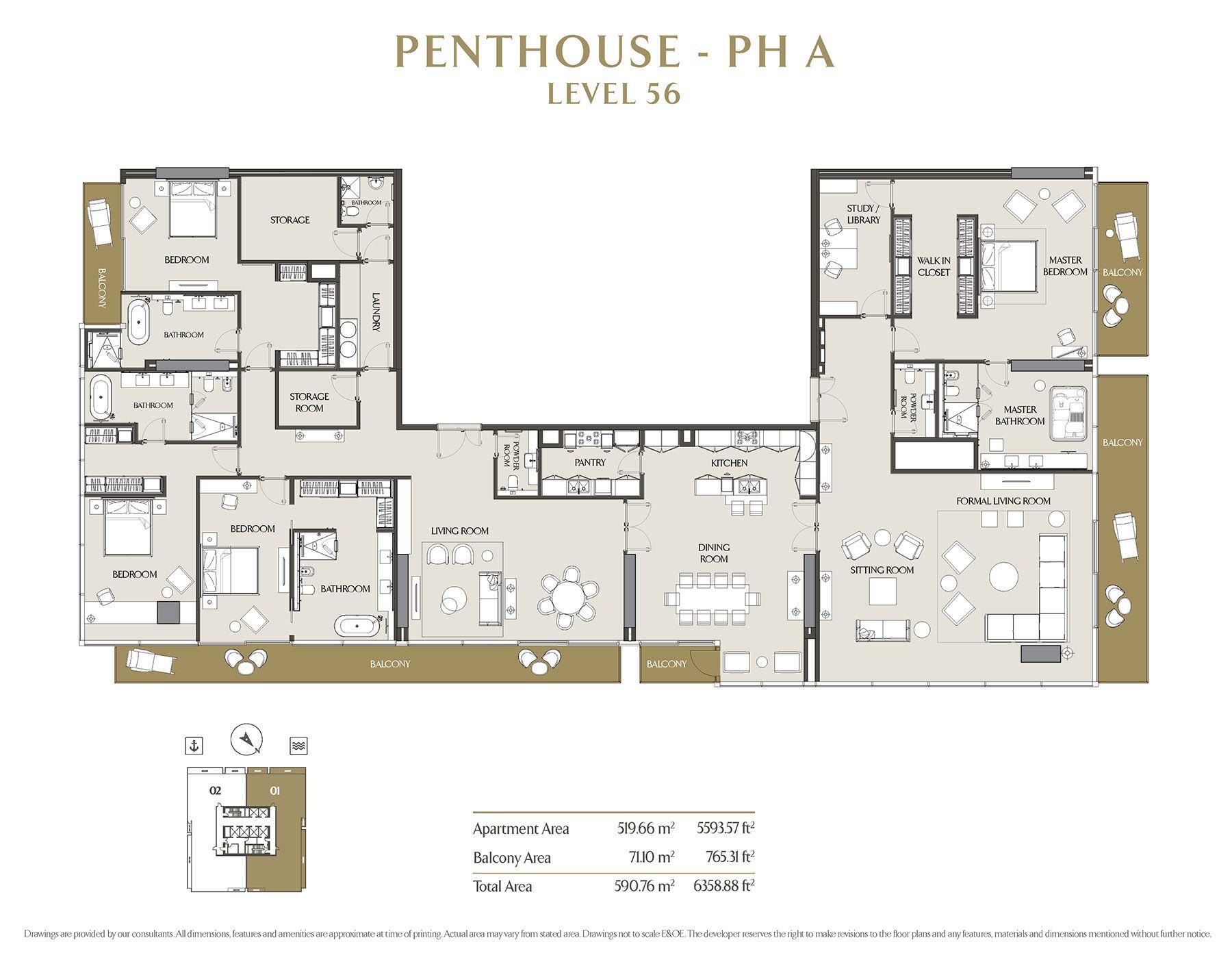 Jumeirah Living Marina Gate Apartment Plans Sims House Penthouse Living