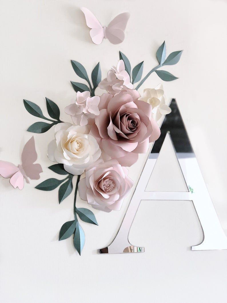 Paper Flowers Paper Flowers Wall Decor Paper Flowers Wall