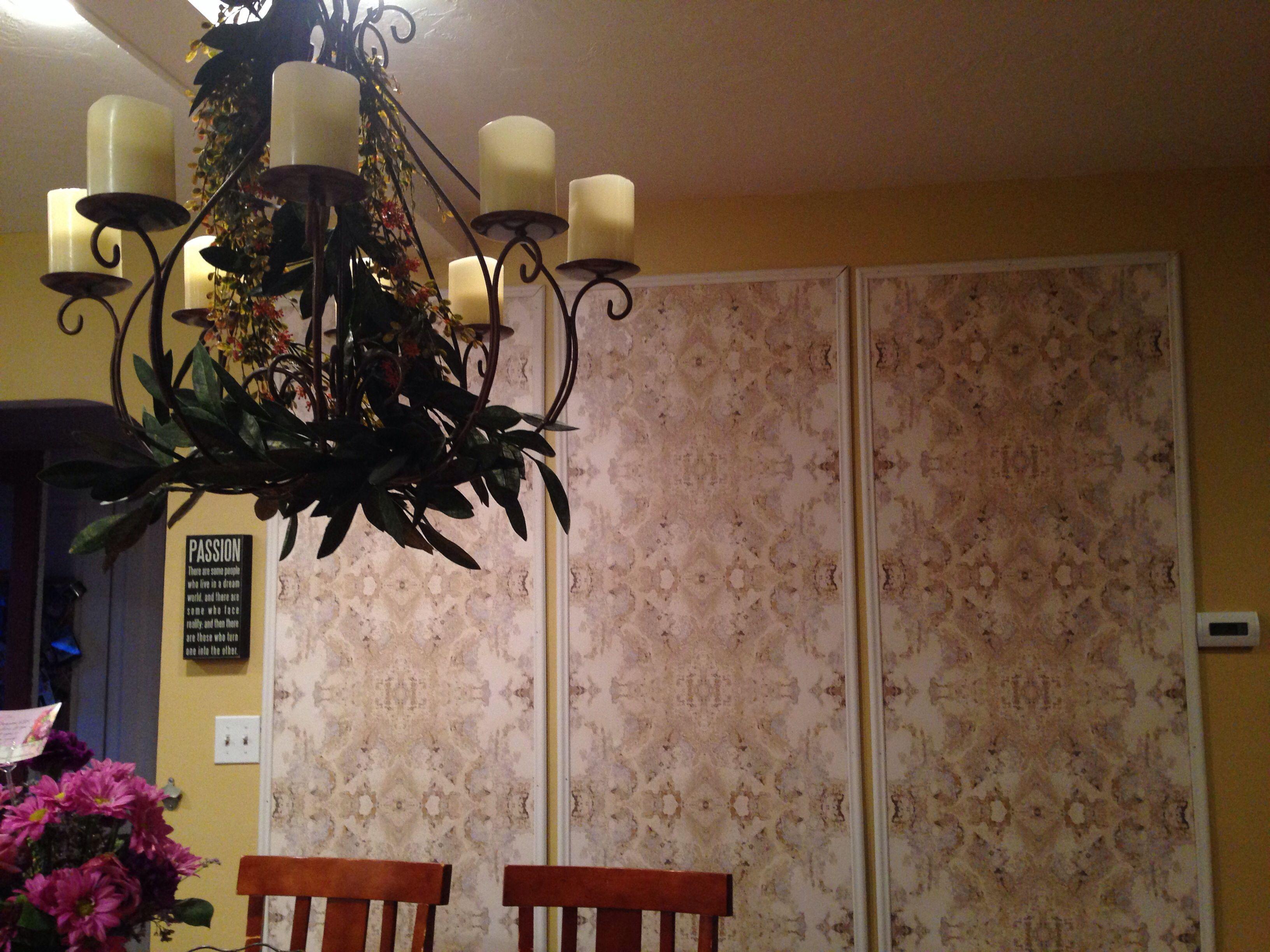 Wallpaper Panels Framed Wallpaper