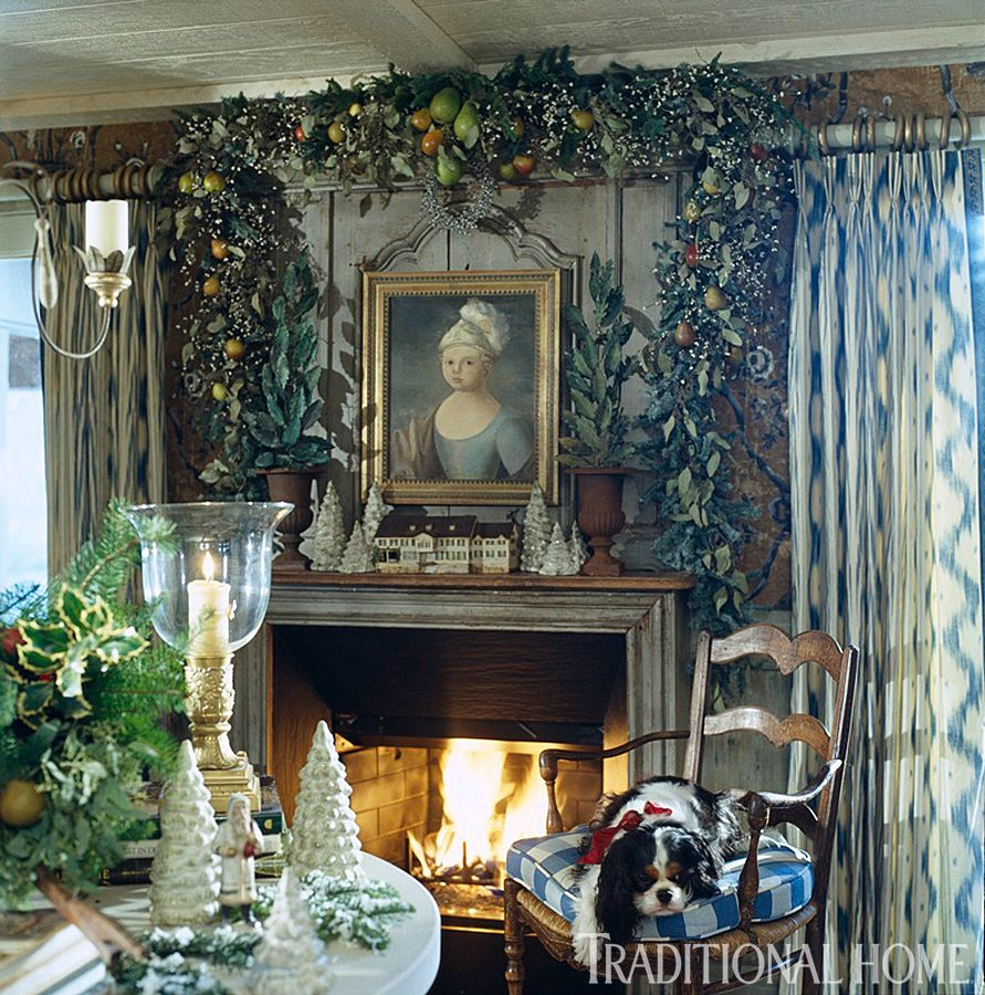 Hydrangea Hill Cottage French Country Decorating: Hydrangea Hill Cottage: French Country Christmas At The