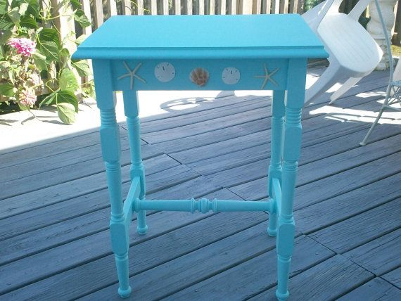 Coastal/Beach House Lamp Table Local Pick Up by SoCoBeachHouse, $90.00