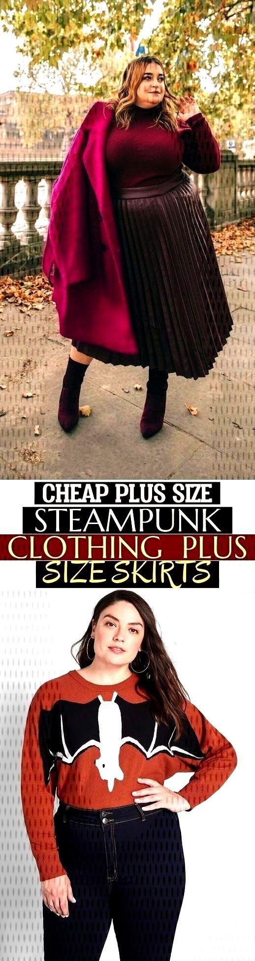 Cheap Plus Size Steampunk Clothing - Plus Size Skirts - , günstige übergrößen steampunk-kleidun