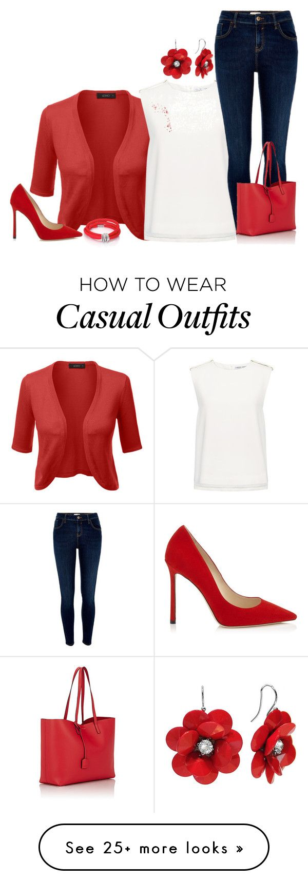 """Casual Work"" by kathydiaz86 on Polyvore featuring Finders Keepers, River Island, Yves Saint Laurent and de Grisogono"