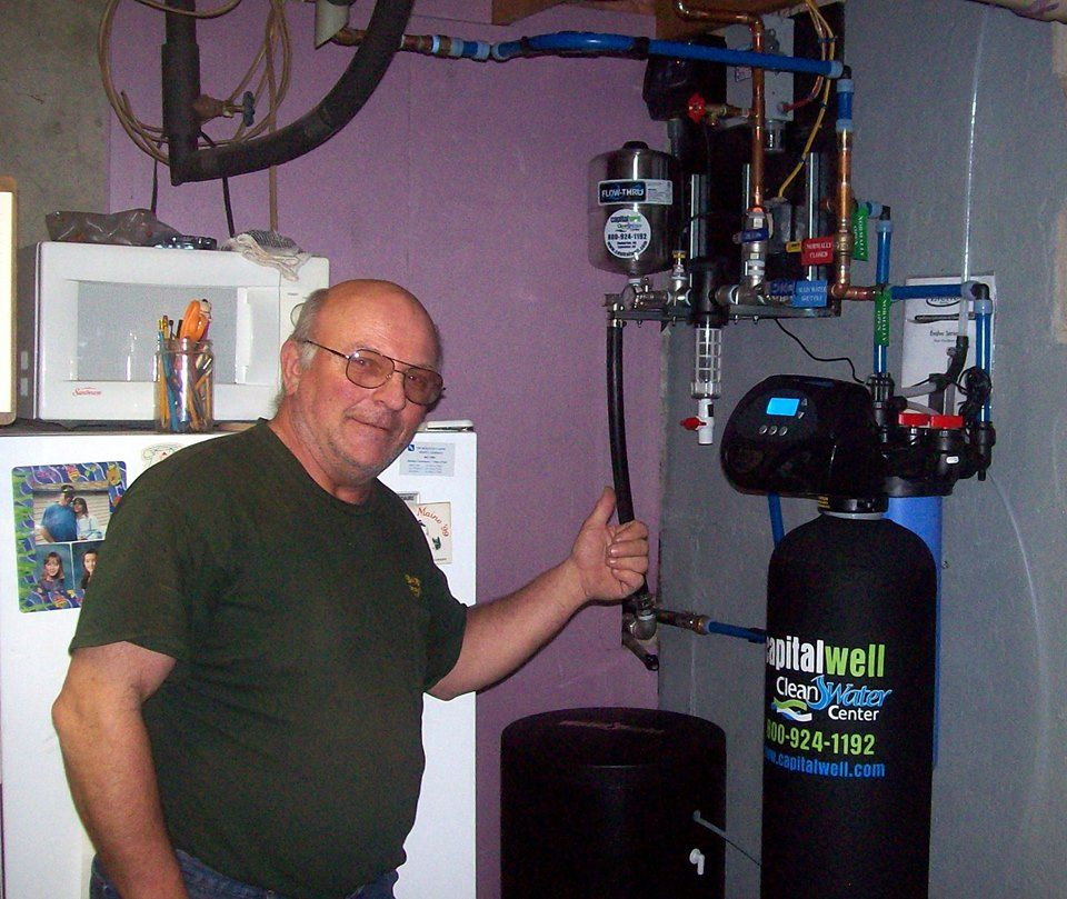 New water pump, well, water softener and LAKOS