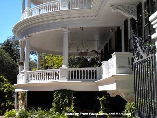 Porch Roof Designs | Porch railing designs, Front porch ... on