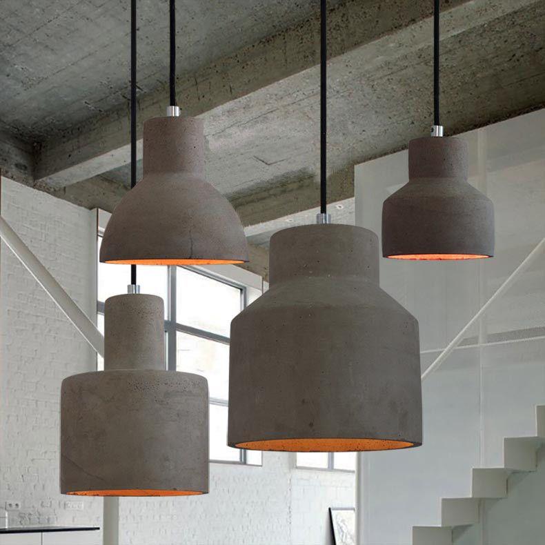 Concrete Oslo Pendant Light