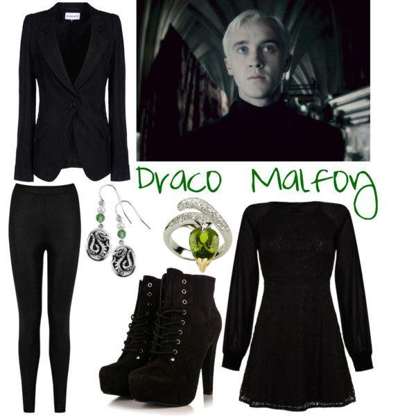 """Harry Potter: Draco Malfoy"" by cristianoronaldostar on Polyvore"