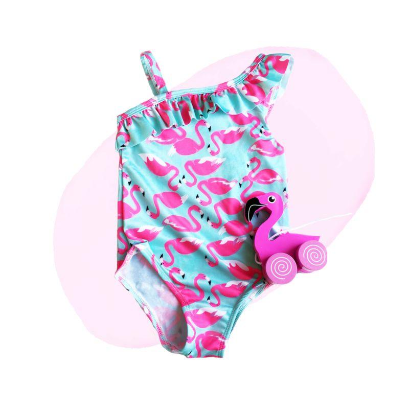 Hip Badpak.Flamingo Badpak Hip Kleurrijk En Perfect Voor Kleine Meisjes