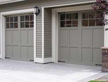 Beautiful Residential Aluminum Garage Doors   Northwest Door
