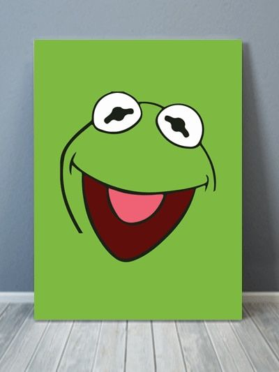 Sesame Street Inspired Collection Abstract Canvas Art | ArtzeeDesigns.com