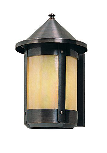 Arroyo Craftsman Bs 7lrtn S Berkeley Long Body Wall Sconce With Roof 7