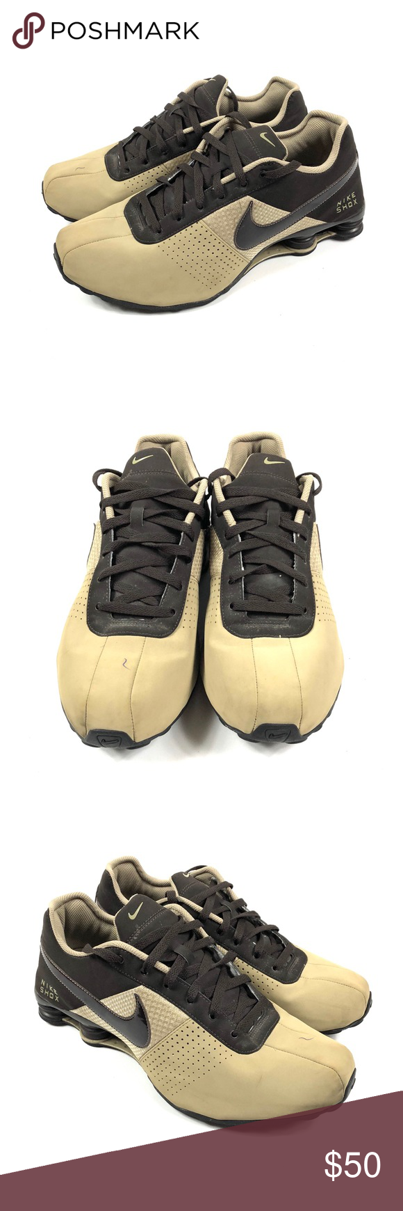 super popular a1344 d8632 Nike Shox Deliver Brown Leather Bamboo Pre-owned. Good condition. Only  issue would be the pen mark on the right toe of the shoe. Nike Shoes  Athletic Shoes