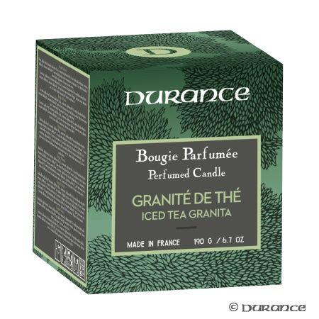 Bougie Naturelle Parfumée Granité de Thé