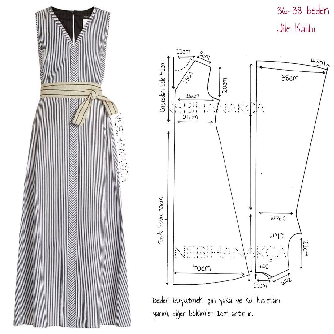 Vestido largo talla s carola pinterest patterns sewing