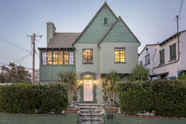 Inside Constance Wu S Charming New 1 35 Million Tudor Revival In L A Tudor Style Homes House Los Angeles Homes