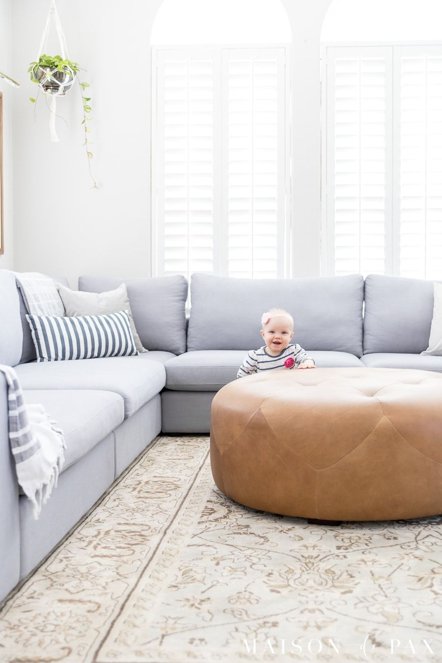 - Designing A Small Living Room With A Large Sectional Kid