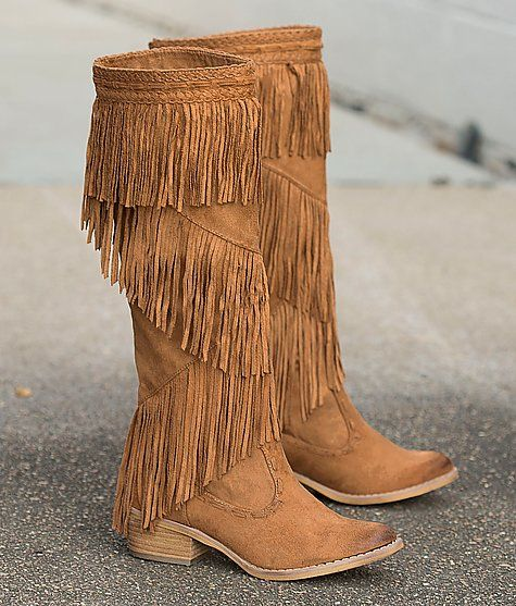 Pin By Laina Griffin On My Boots In 2020 Boots Suede Fringe Boots Womens Boots