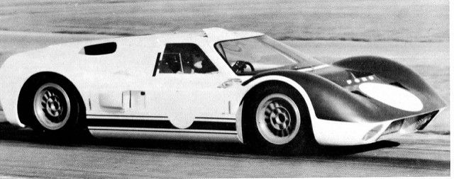 Can Am Version Of 1966 J Car Ken Miles August 17th 1966 Ford Gt