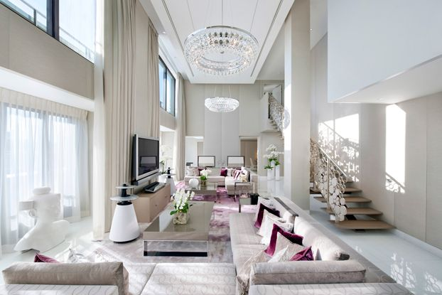 Elegance at Paris' new Mandarin Oriental hotel - stunning