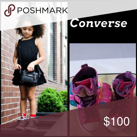 0a7a77ca04b daintybae poshmark Teach your darling to take pride in her appearance by  dressing her in a dress. Sneakers are a savvy choice to complement this  ensemble.