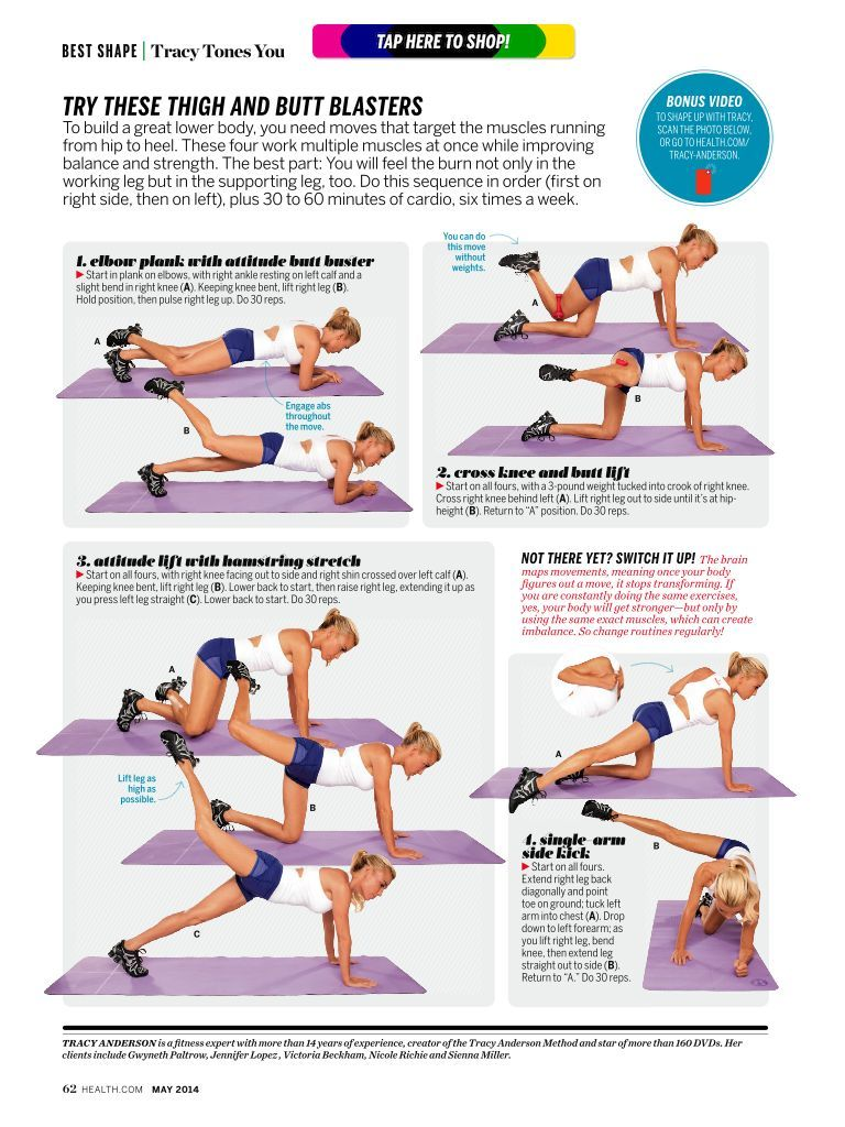 tracy anderson 30 day method pdf