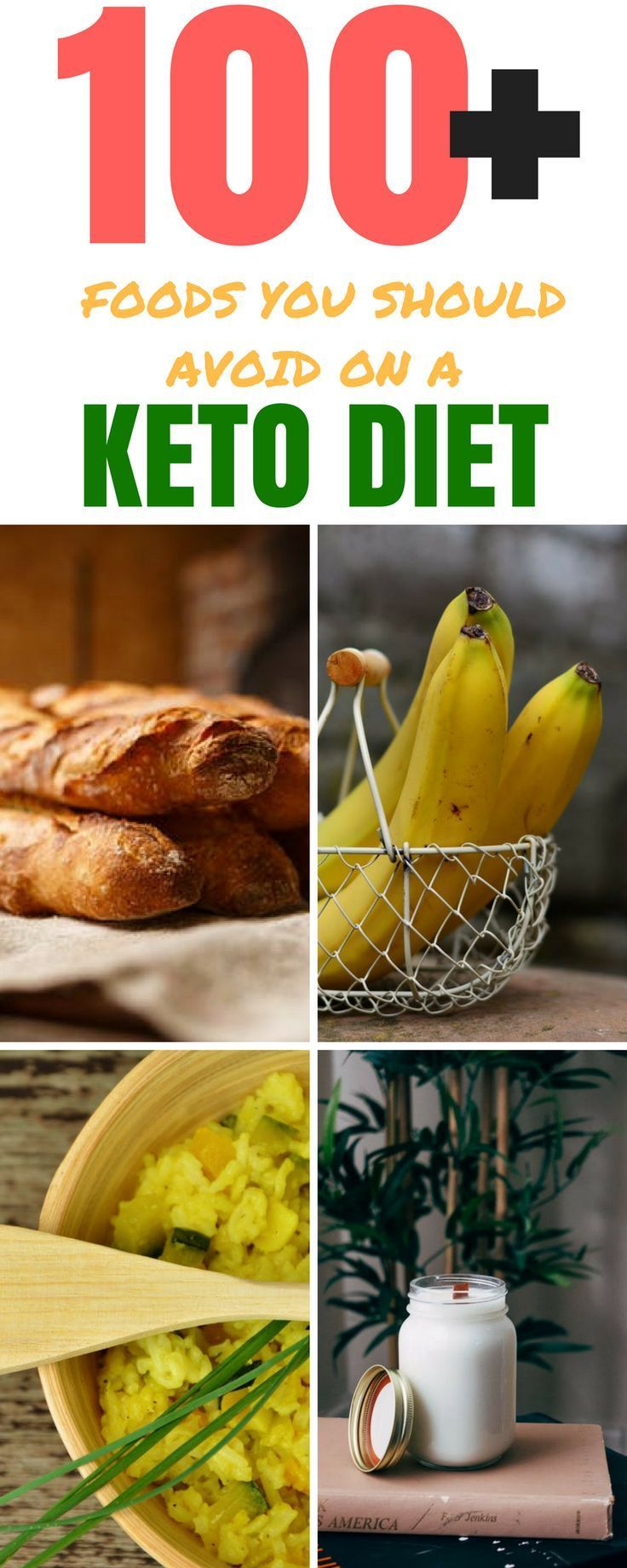 100+ Foods You Should Avoid On a Keto Diet Food