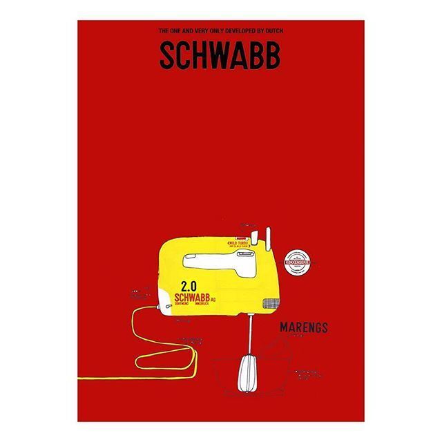 Yellow handmixer from Schwamm! Art print from The Kitchen Series, first collection. Go to brand new WEBSHOP www.thekitchenseries.com. Stay kitchen tuned. #thekitchenseries #art #graphics #graphicdesign #danish #danishdesign #artprint #archival #print #poster #kitchenposter #kitchenart #red #yellow #kitchen #kitchendesign #modernkitchen #handmixer #kitchenware #kitchenutensils #kitchenthings #kitchenaccessories #kitchentools #dothekitchenthing #cooking #food #instafood #perpetri…