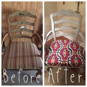 """Good """"How To"""" on making recovering the seat of a chair easy!!   Mama the Storyteller 
