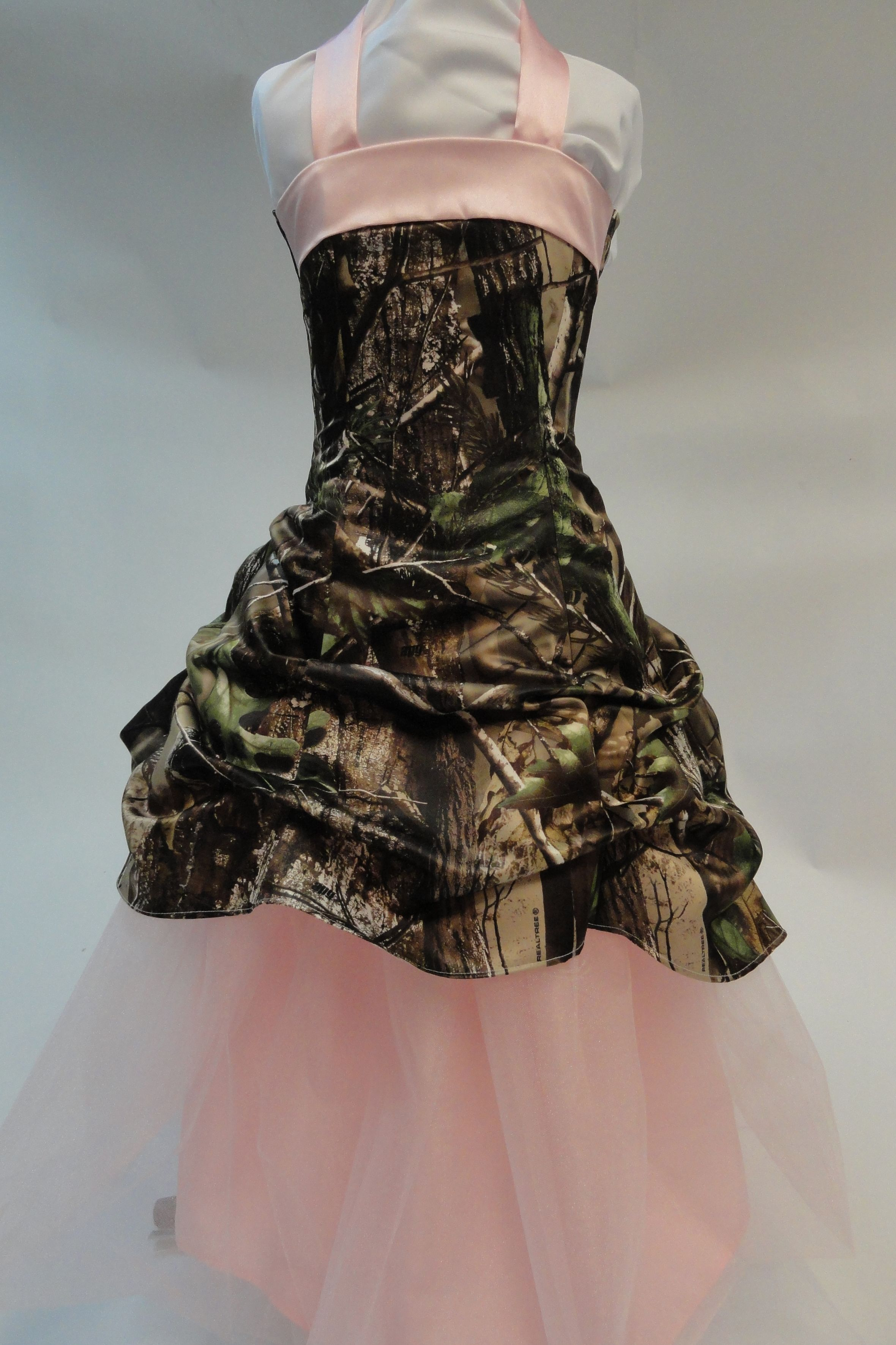 Realtree Camo Flower Girl Gown   Camo formal, Formal wear and Camo