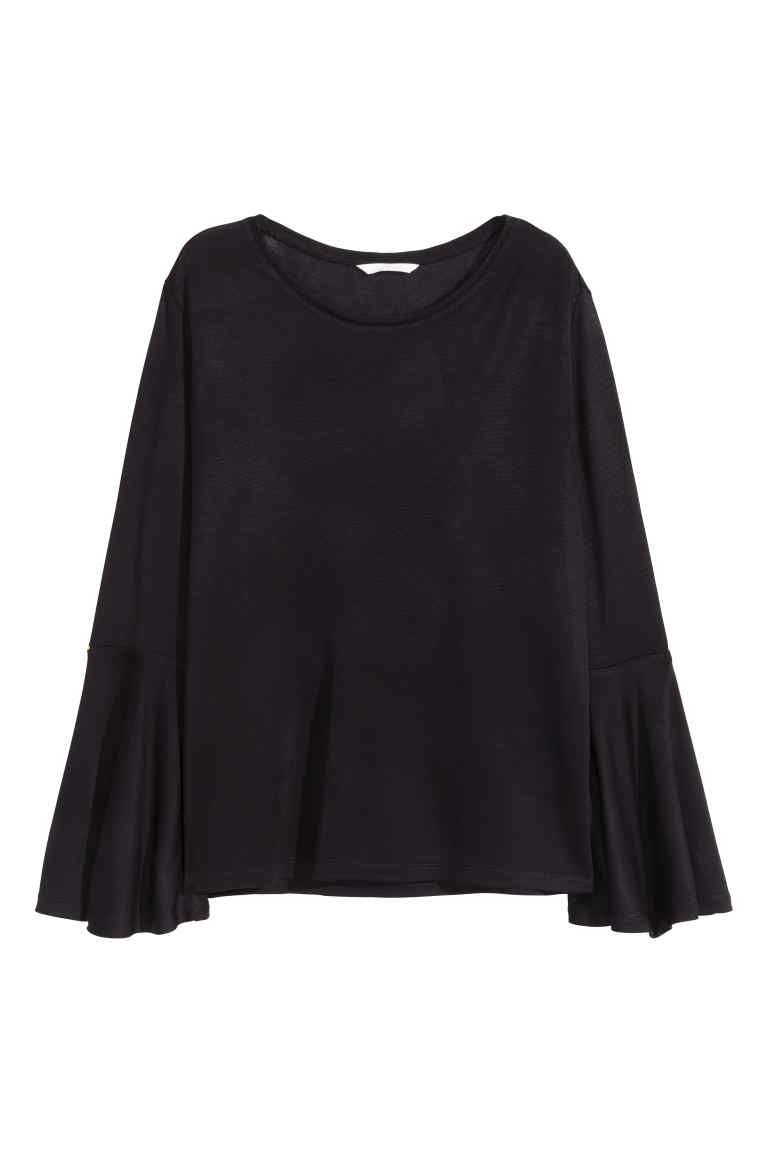 157f15ac9fae Top with frilled sleeves   H M   Styles   Pinterest