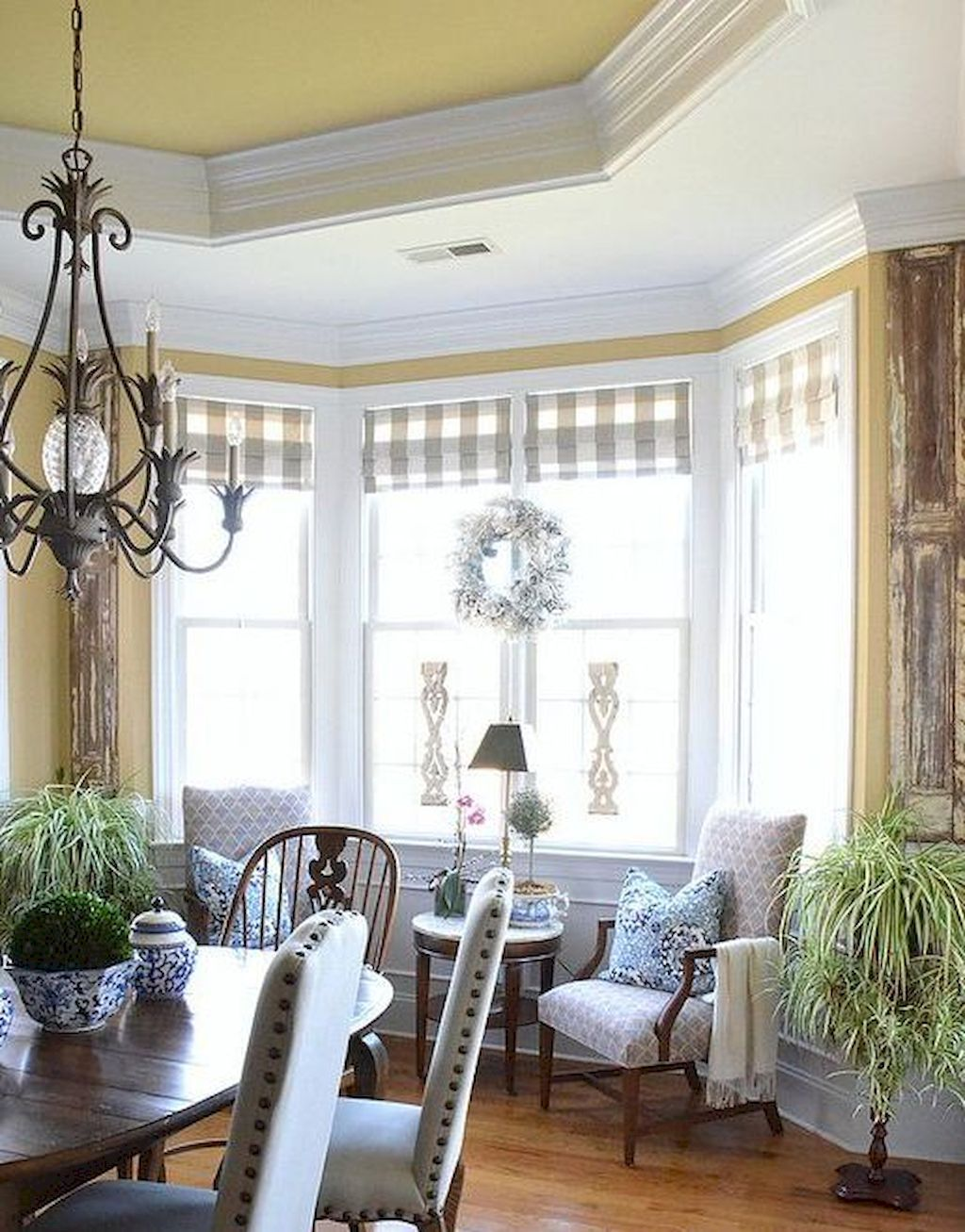 80 Fancy French Country Dining Room Decor Ideas images