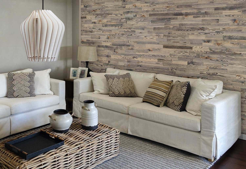 Ideoita Olohuoneeseen In Puuseinapaneeleiksi Ja Aitoa Puuvalaisinta Wodewasta In 2020 Living Room Decor Apartment Small Room Design Room Design
