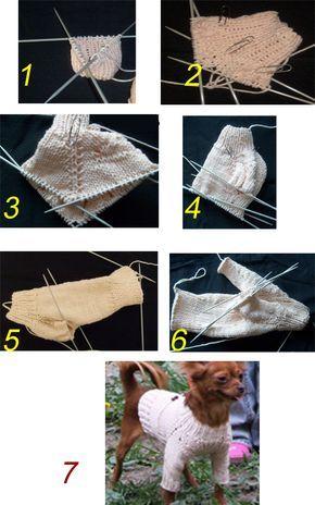 Свитер для собаки схема фото 390