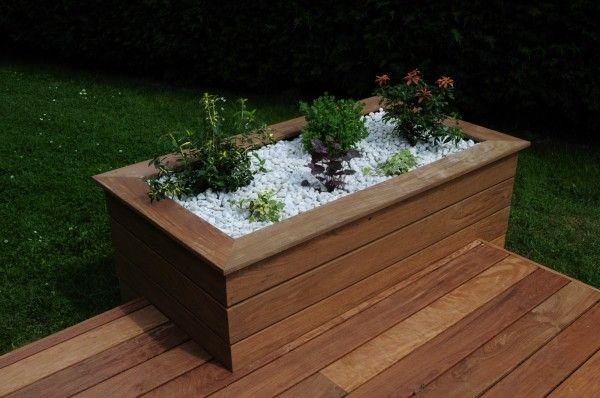 Terrasse jardini re ip nord pas de calais exterieur jardini re en bois amenagement jardin - Fabrication jardiniere bois ...