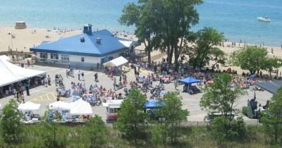 Weko Beach Bridgman Mi My Favorite Lake Michigan