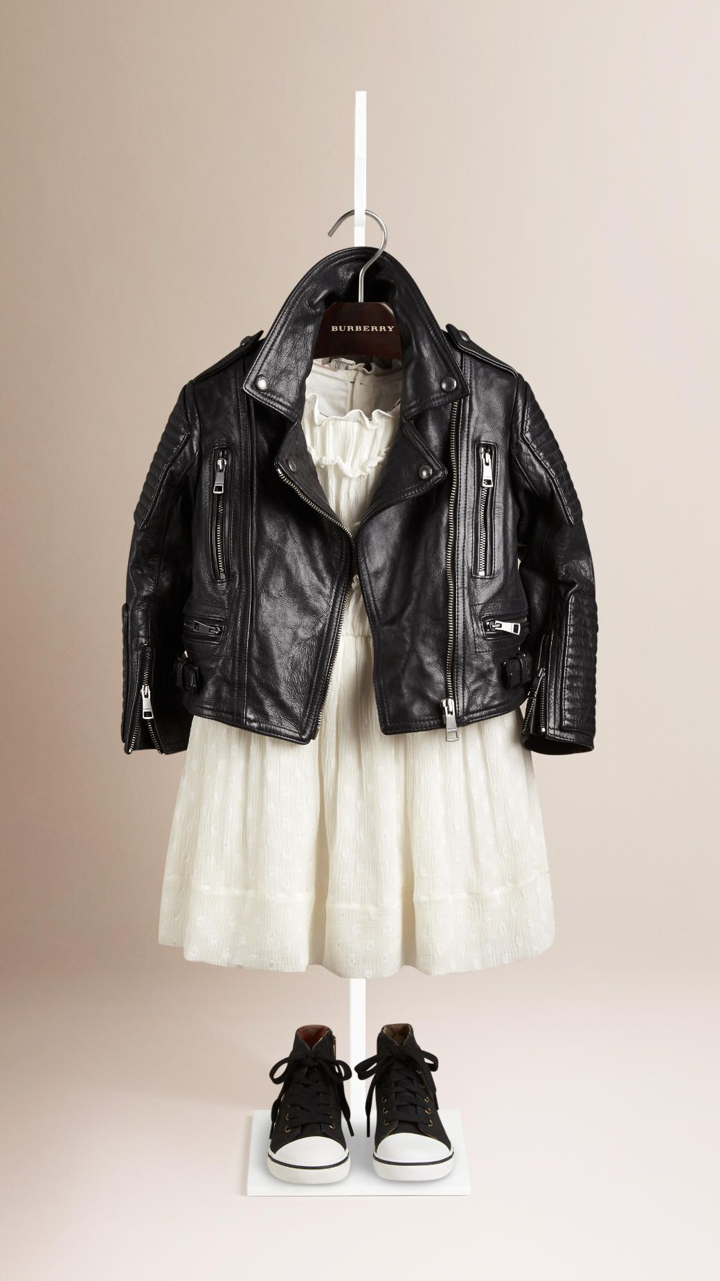 Leather Biker Jacket   Burberry   Kids Fashion  the Kidswear.   Kids ... 476b85dbf5ee