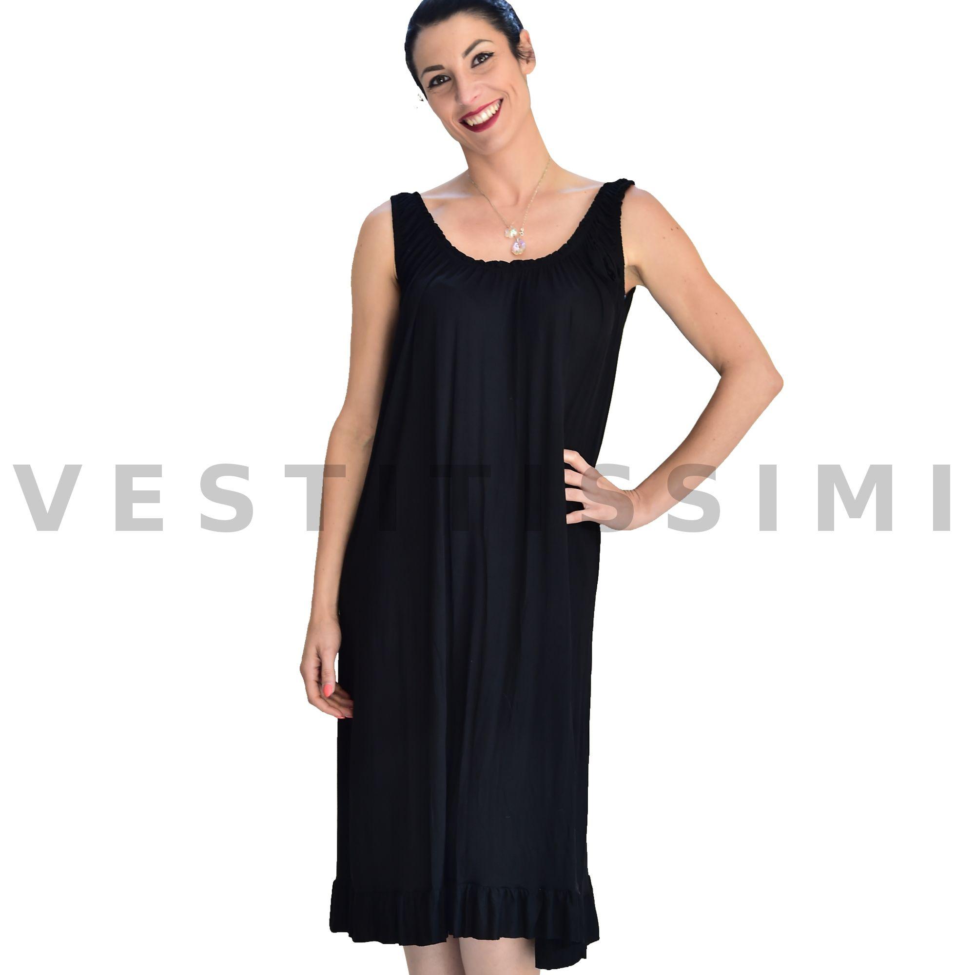 Abito vestito donna miniabito vestitino ESTIVO MARE copricostume canottiera  Vs23 5bc308f6dc30