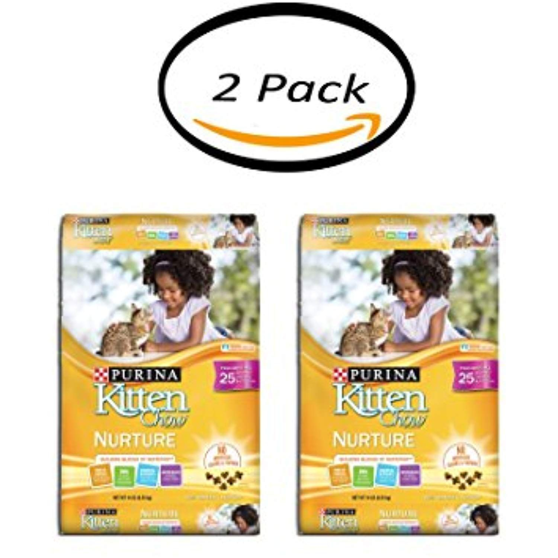Pack of 2 purina kitten chow nurture cat food 14 lb bag