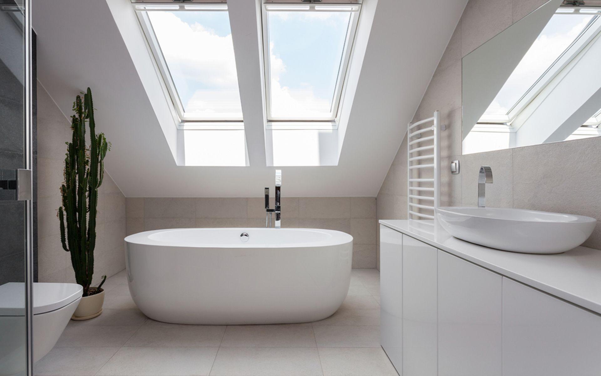 Stijlvol wit dakramen selectie badkamer pinterest bathroom