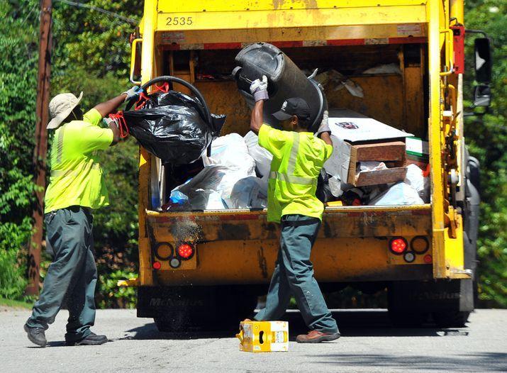 sanitation worker truck operation - Google Search Garbage