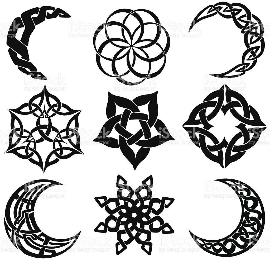 Celtic tattoo tree of life bing images art tattoo celtic knot moons stars shapes royalty free stock vector art biocorpaavc