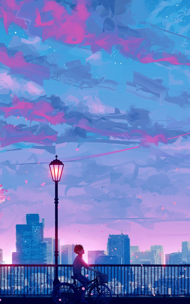 Anime Cityscape Landscape Scenery In 2020 Scenery Wallpaper Anime Scenery Anime Scenery Wallpaper