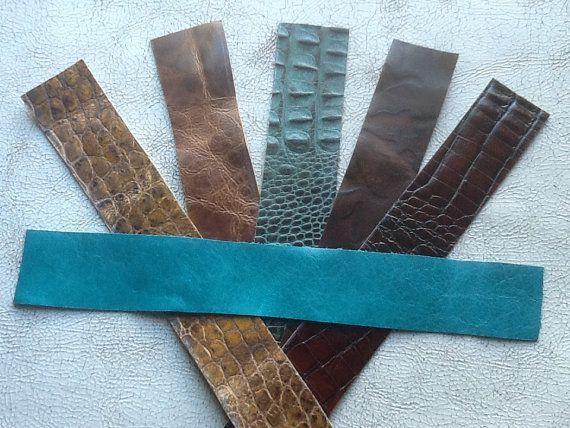 Bracelet Blanks Craft Leather Strips Total By Drdiysupply