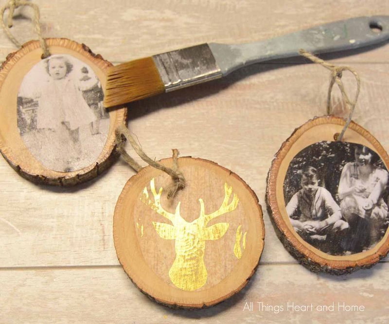 Rustic Memory Ornament - All Things Heart and Home